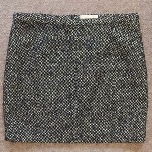 Michael Kors wool mix mini skirt 14 P